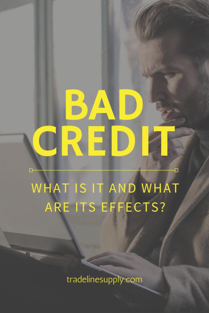 Bad Credit Pinterest Graphic
