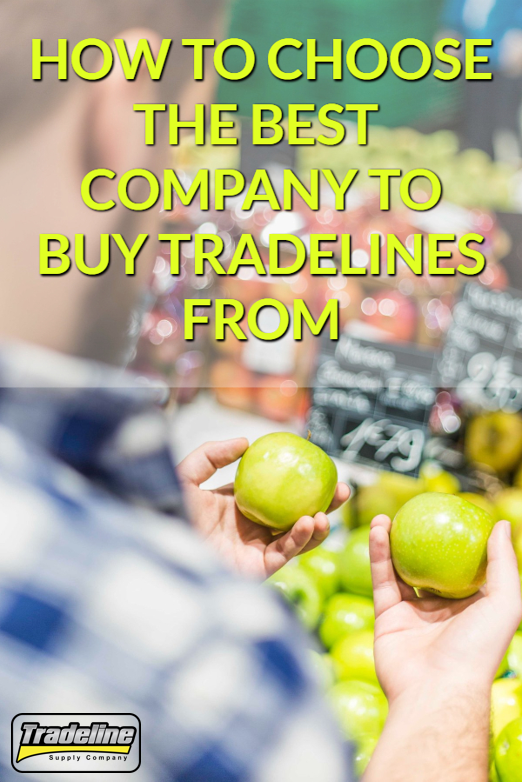 How to Choose the Best Company to Buy Tradelines From