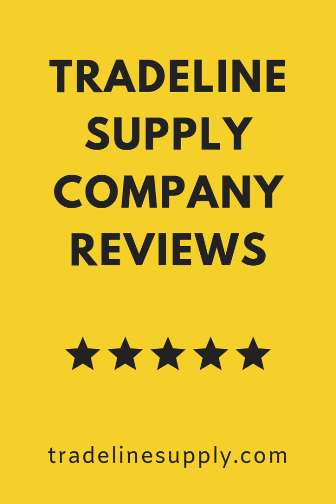 Tradeline Supply Company Reviews pinterest graphic
