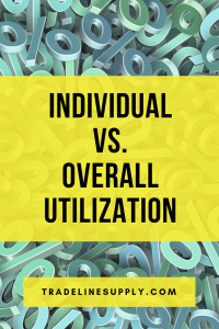 Individual vs. Overall Utilization - Pinterest