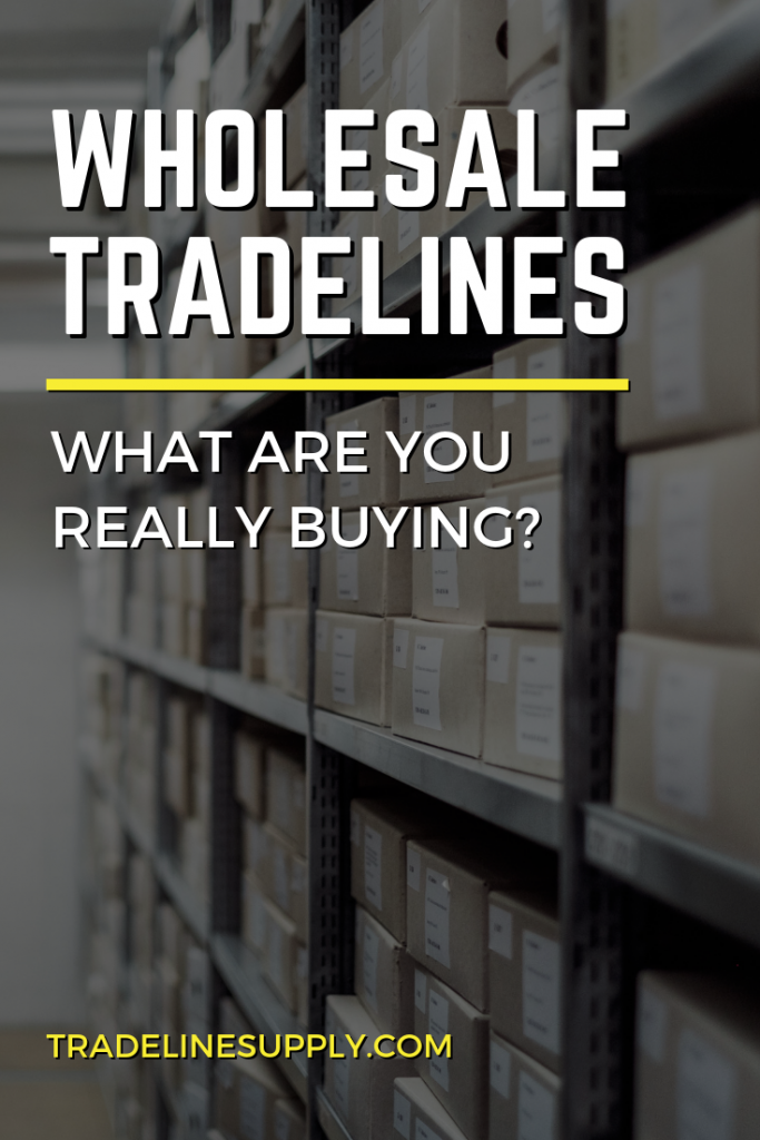 Wholesale Tradelines: What Are You Really Buying? Pinterest Graphic