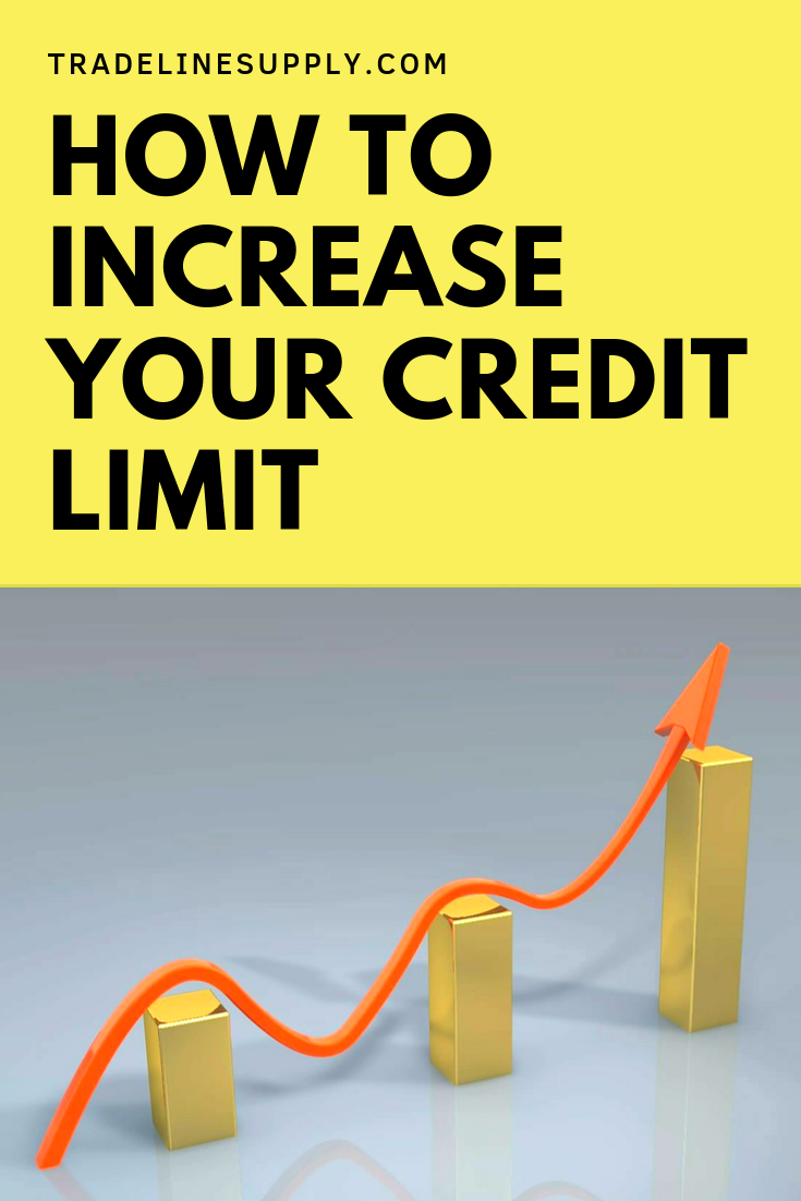 How to Increase Your Credit Limit - Pinterest graphic
