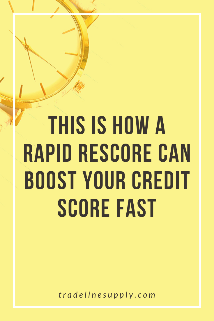 This Is How a Rapid Rescore Can Boost Your Credit Score Fast - Pinterest