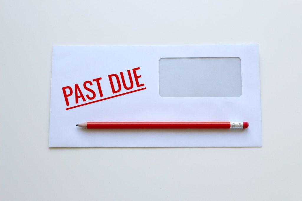 Past due notice