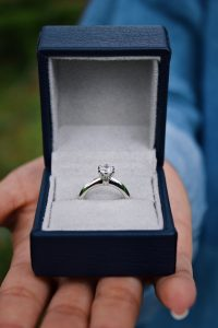 Before financing an engagement ring, make sure you know how it could affect your credit.