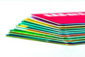 Consumers with excellent FICO scores have an average of seven credit cards, including closed accounts.