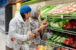 The SNAP and WIC programs provide food assistance benefits to low-income families.