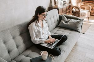 Examples of side hustles you can do at home include taking online surveys and participating in virtual focus groups.