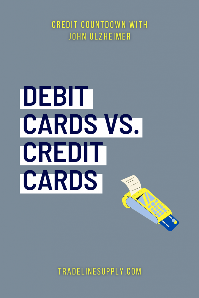 Debit Cards vs. Credit Cards - Pinterest