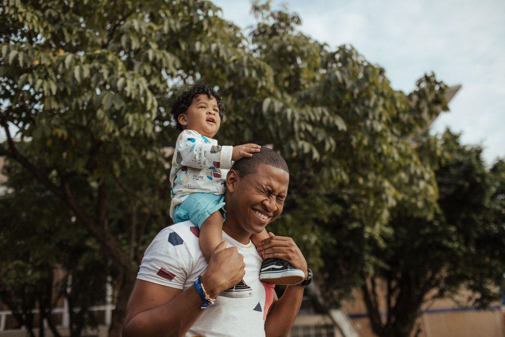Parent and child piggybacking